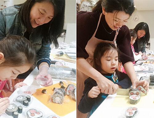 溫馨萬聖節手作diy:和寶貝一起捏搞怪壽司!