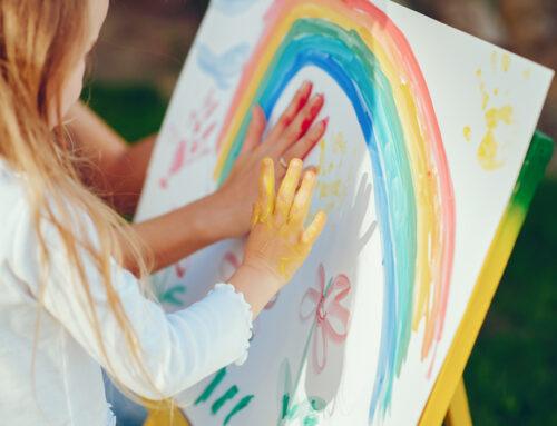 在家也能玩的兒童美術,簡單方便易上手!